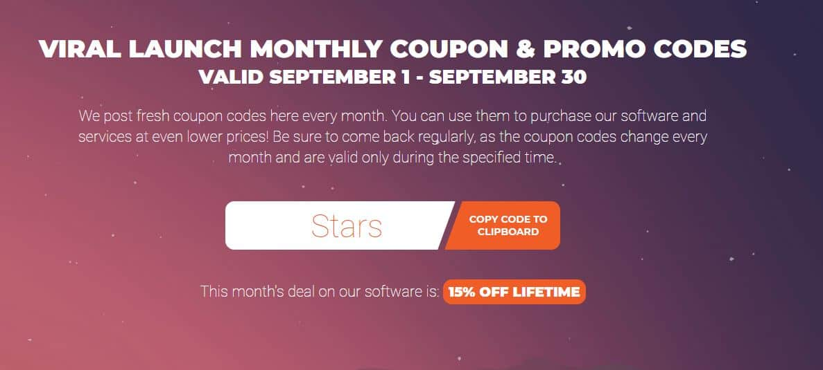 viral launch market intelligence coupon code