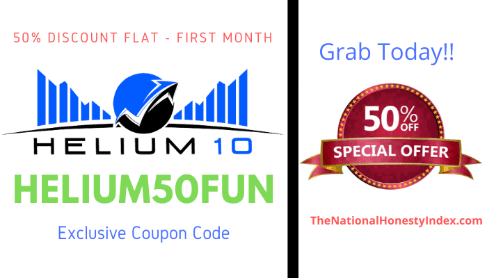 Helium 10 Coupon Discount