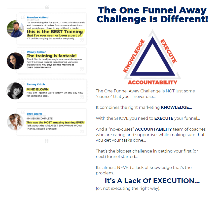 Benefits of the One Funnel Away Challenge